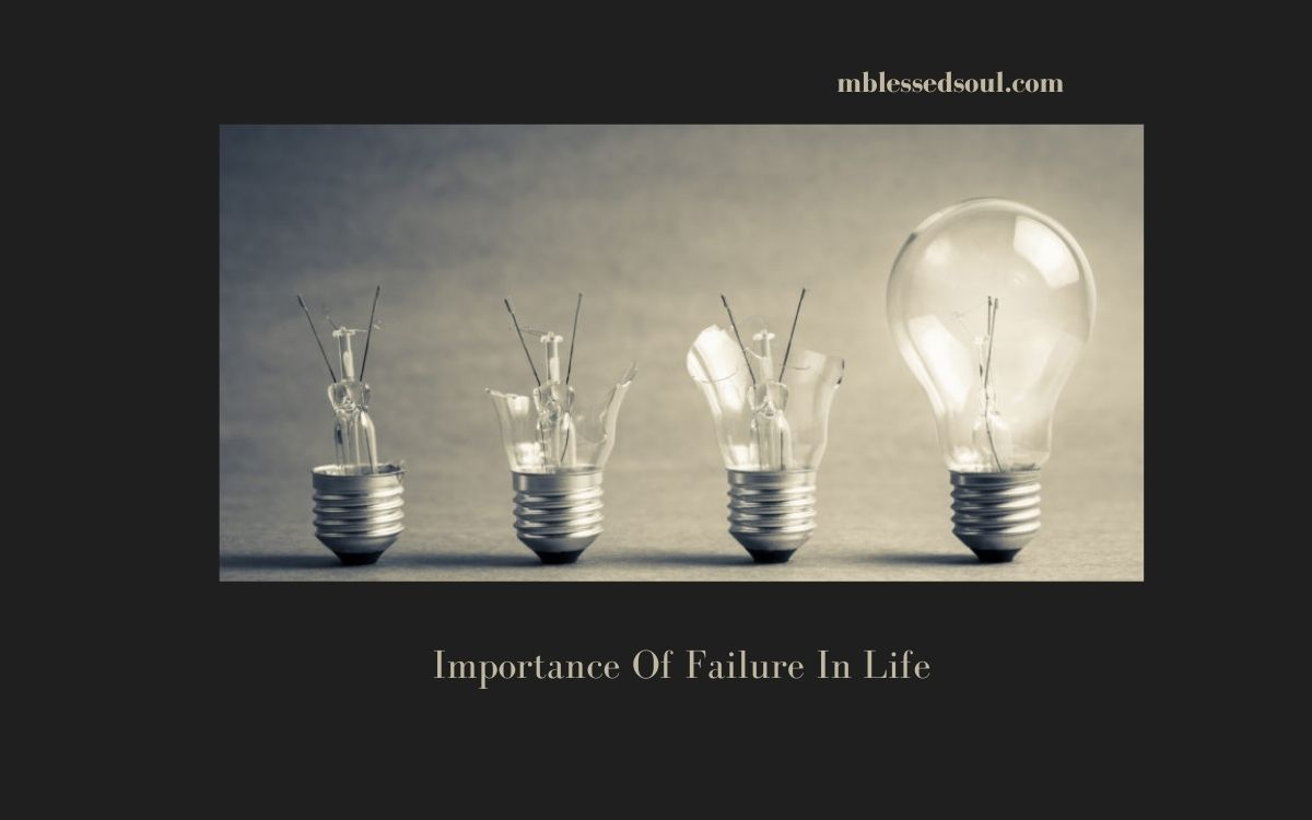 What To Learn From Failure.