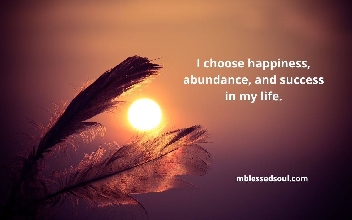 Daily Affirmations For Happiness And Success.